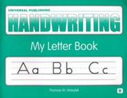 Original Handwriting: My Letter Book (Book B, Grades K-1)