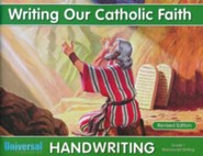 Writing Our Catholic Faith: Manuscript, Grade 1