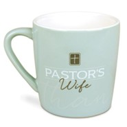 Thank You, Pastor's Wife Mug with Scripture Cards