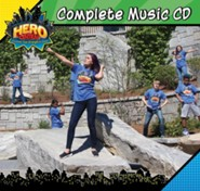 VBS 2017 Hero Central: Discover Your Strength in God! - Complete Music CD