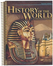 Abeka History of the World in Christian Perspective  Teacher's Edition (5th Edition)