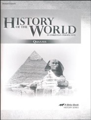 Abeka History of the World in Christian Perspective Quiz  Book (5th Edition)