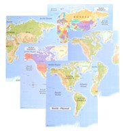 Abeka World History Maps (Grade 7)