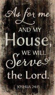 As for Me and My House...