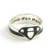 Become Her Hero Ring, Size 8