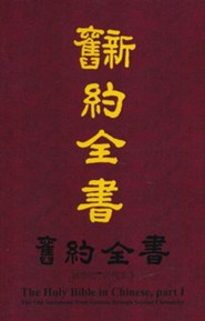Genesis Through Chronicles, -Chinese, Paper