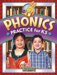 BJU Press K5 Beginnings, Phonics Practice Book