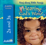 Hearing God's Word (ages 2 & 3) Audio CD