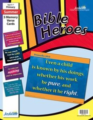 Bible Heroes Primary (Grades 1-2) Memory Verse Visuals