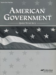 Abeka American Government Quiz/Test Key