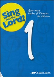 Abeka Sing unto the Lord! Grade 1 Audio CD