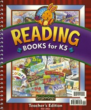 BJU Press K5 Beginnings Reading Books Teacher's Edition, Third Edition