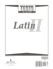 BJU Latin II, Tests