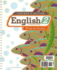 BJU English Grade 2: Writing & Grammar, Teacher's Edition (Second Edition)