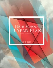 A Well-Planned Day High School 4 Year Planner (July 2018 -  June 2022)