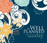 The Well-Planned Day Wall Calendar (July 2018 - June 2019)