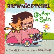 Brownie & Pearl Go for a Spin - eBook  -     By: Cynthia Rylant     Illustrated By: Brian Biggs