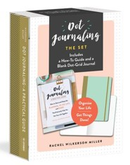 Dot Journaling-The Set: Includes a How-To Guide and a Blank Dot-Grid Journal