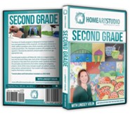 Home Art Studio on DVD & DVD-ROM: 2nd Grade