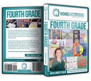 Home Art Studio on DVD & DVD-ROM: 4th Grade