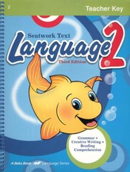 Abeka Language 2 Teacher Key, Third Edition