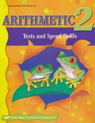 Abeka Arithmetic 2 Tests & Speed Drills Key