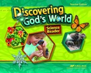 Abeka Discovering God's World Grade 1 Teacher Edition (New  Edition)