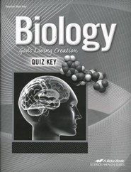 Abeka Biology: God's Living Creation Quizzes Key (Updated  Edition)