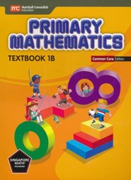 Primary Mathematics Textbook 1B Common Core Edition