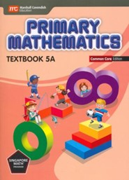 Singapore Primary Math CCSS Edition Gr 5