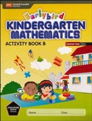 Earlybird Kindergarten Math Common Core Edition Activity Book B