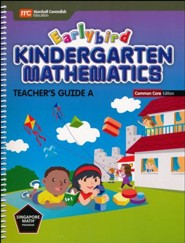 Earlybird Kindergarten Math Common Core Edition Teacher Guide A