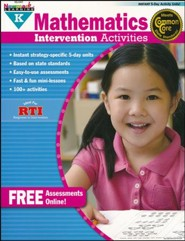 Mathematics Intervention Activities Grade K