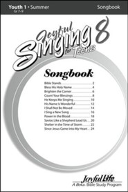 Joyful Singing for Teens #8 Songs