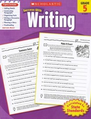 Scholastic Success with Writing, Grade 5