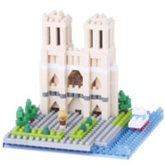 Nanoblock Sights To See, Cathedrale Notre-Dame