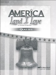 Abeka America: Land I Love Quizzes (Updated Edition)