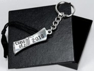 2018 Graduation Key Ring with Cap Gift Box