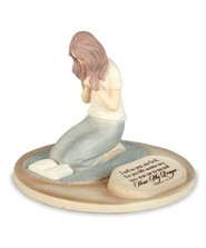 Devoted Praying Woman Figure