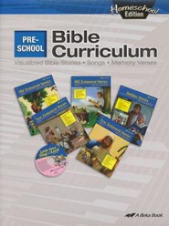 Abeka Homeschool Preschool Bible Curriculum