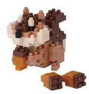 Nanoblock Mini Squirrel with Acorns