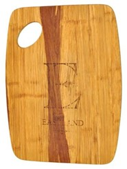 Personalized, Tiger Wood Cutting Board, Large,  Family Name