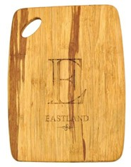 Personalized, Tiger Wood Cutting Board, Small,  Family Name