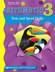 Abeka Arithmetic 3 Tests and Speed Drills Key
