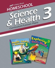 Abeka Homeschool Science & Health 3 Curriculum/Lesson Plans