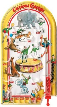 Curious George Pinball