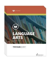 Lifepac Language Arts, Grade 11, Workbook Set