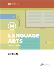 Lifepac Language Arts, Grade 3, Teacher's Guide
