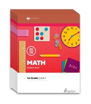 Lifepac Math, Grade 1, Workbook Set