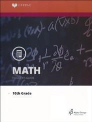 Lifepac Math, Grade 10 (Geometry), Teacher's Guide